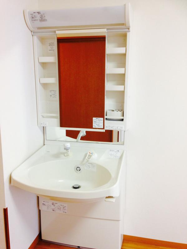 上下調整可能な可動式洗面台